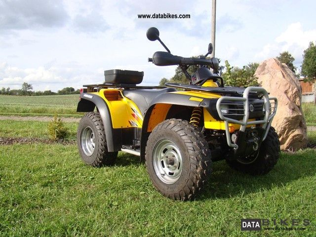 2001 Bombardier  Traxster 500 4x4 XT, with a winch, gear ratio Motorcycle Quad photo