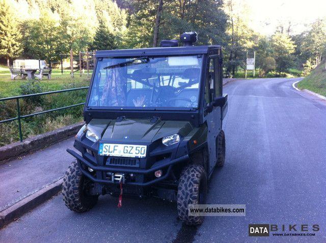 2012 Polaris  Ranger 900 Diesel 4x4, Lof, closed. Cab, 2 wind Motorcycle Quad photo