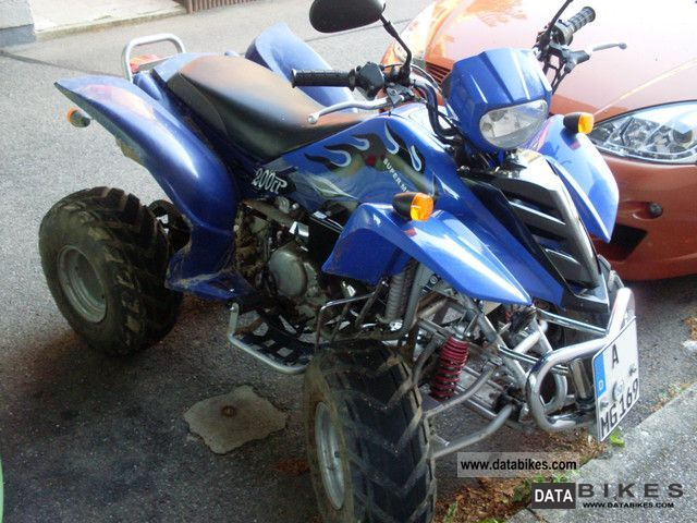 2007 NSU  HSUN Quad 200 cc Motorcycle Quad photo