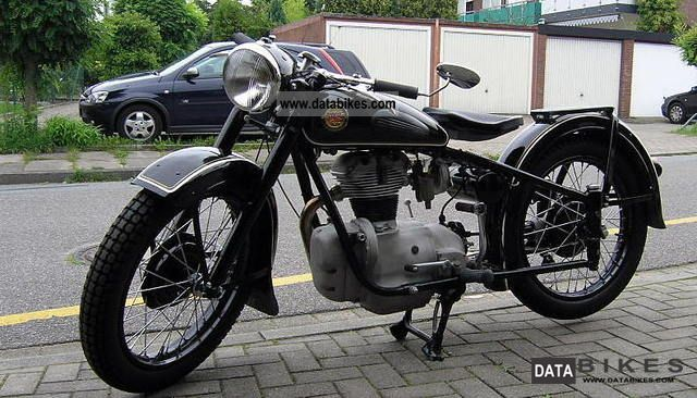 Simson  425 T 1958 Vintage, Classic and Old Bikes photo