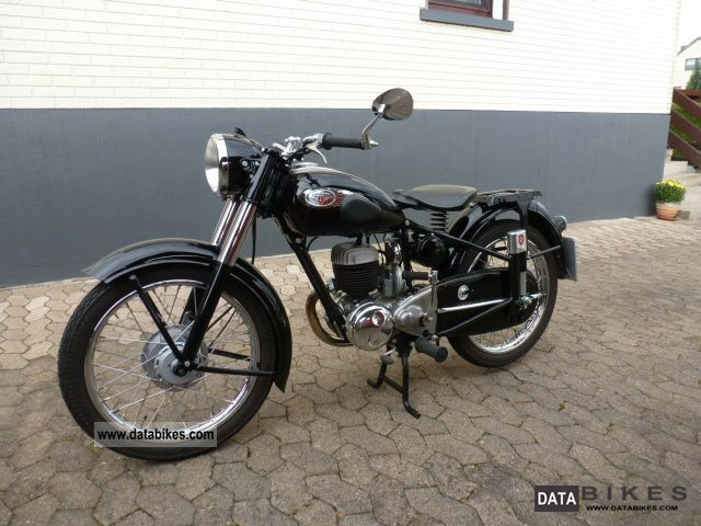 Zundapp  Zündapp DB 234 Norma luxury 1954 Vintage, Classic and Old Bikes photo
