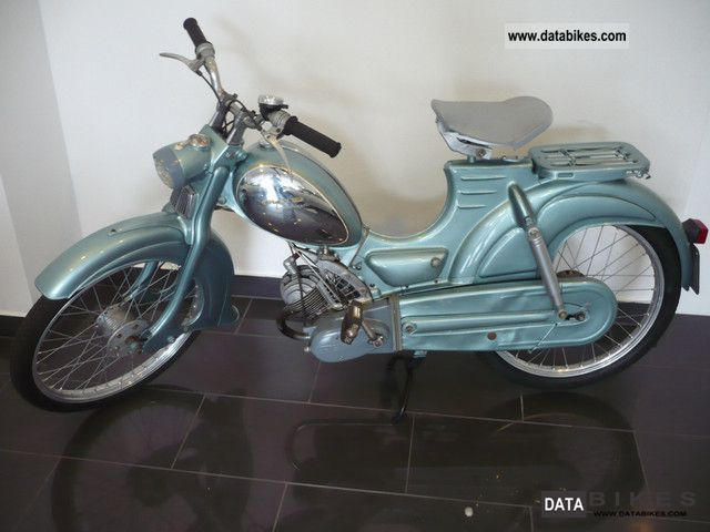 Zundapp  Zündapp combinette BJ1958 seltes model with single seat 1958 Vintage, Classic and Old Bikes photo