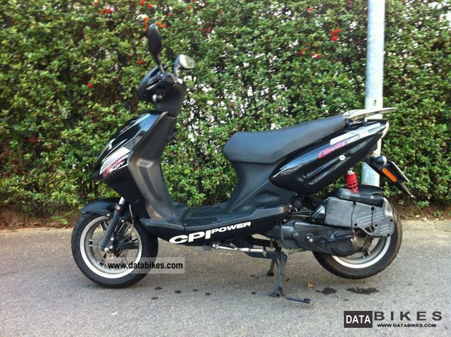 2008 CPI  Oliver 125 Motorcycle Scooter photo