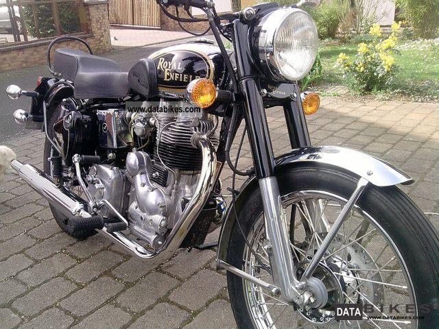 2009 Royal Enfield  500 CC Motorcycle Motorcycle photo