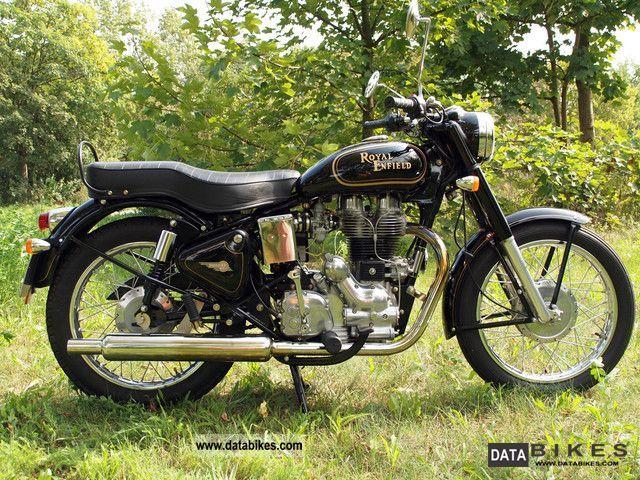 2008 Royal Enfield  500 ES standard Motorcycle Naked Bike photo