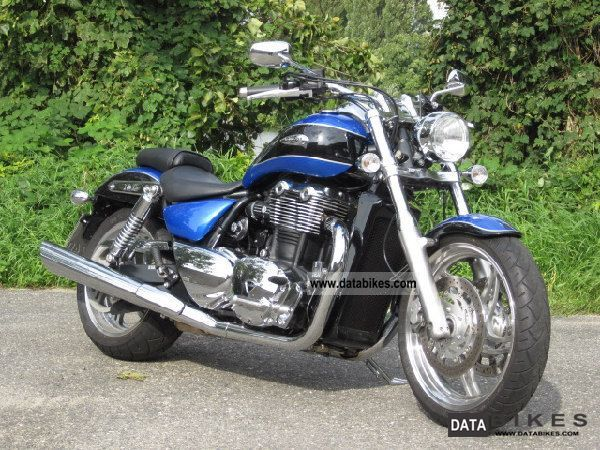 2012 Triumph  THUNDERBIRD first Hand, great color, warranty Motorcycle Chopper/Cruiser photo