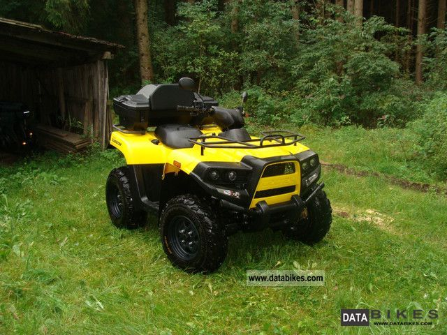 2008 Cectek  Gladiator 500EFI 4x4 Motorcycle Quad photo