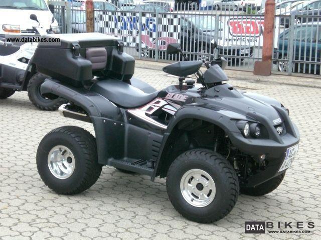 2007 TGB  Blade 250 4x2 rotary gas Motorcycle Quad photo