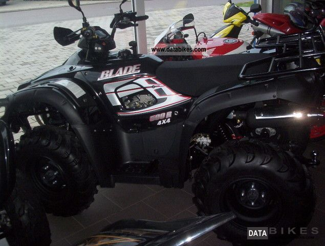 2012 TGB  Blade 500R LOF New from dealer Motorcycle Quad photo