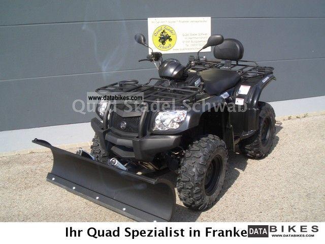 2012 GOES  520 F Winter Motorcycle Quad photo