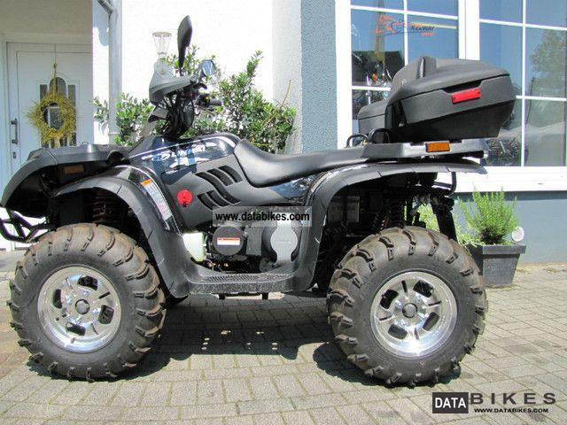 2012 Linhai  ATV 420 4x4 wheel carrier LoF Motorcycle Quad photo