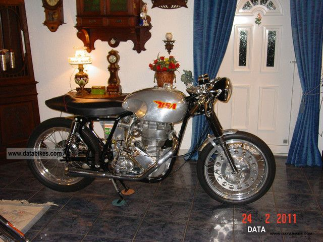 1959 BSA  DBD 34 GOLDSTAR CLUBMAN Motorcycle Motorcycle photo