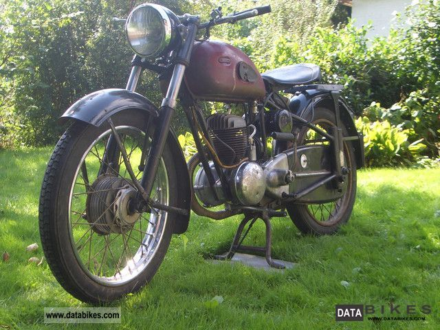 Zundapp  Zündapp DB 234 Norma luxury 1953 Vintage, Classic and Old Bikes photo