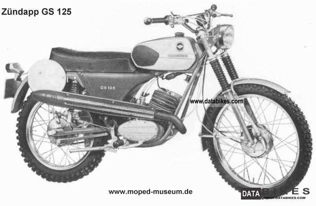 Zundapp  Zundapp GS125 1971 1971 Vintage, Classic and Old Bikes photo