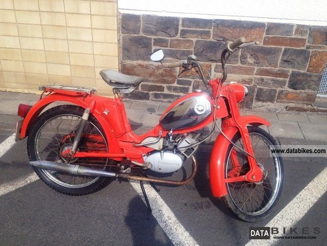 Zundapp  Zündapp climber M 25/50 type 442-02 1974 Vintage, Classic and Old Bikes photo