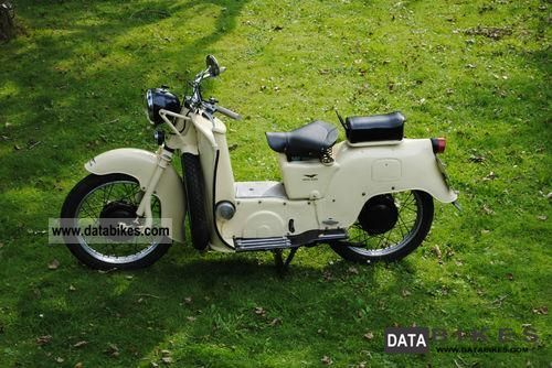 1954 Moto Guzzi  Galletto - 1954 192 cc Motorcycle Scooter photo