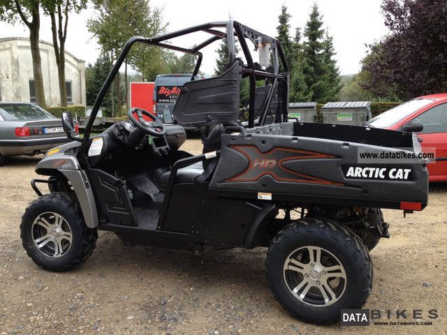 2012 Arctic Cat  HDX I 700 Demonstration Motorcycle Quad photo
