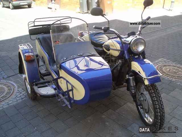 2002 Ural  - Harnessing IMZ-8103 - with sidecar drive Motorcycle Combination/Sidecar photo