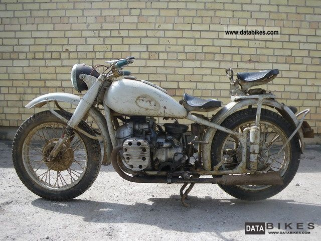 Ural  M72 1956 Vintage, Classic and Old Bikes photo