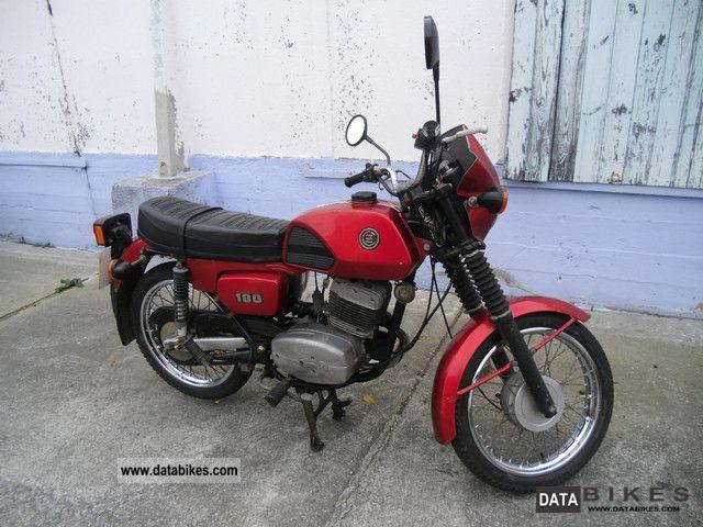 1992 Jawa  CZ 180 (Type 487-3) Motorcycle Tourer photo