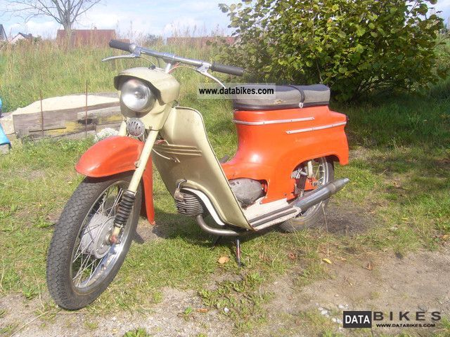 1968 Jawa  20 Motorcycle Motor-assisted Bicycle/Small Moped photo