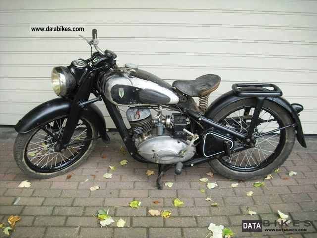 DKW  NZ 250 1939 Vintage, Classic and Old Bikes photo