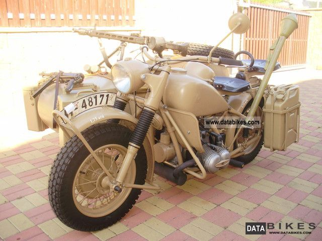 BMW  R-75 WH 1941 Vintage, Classic and Old Bikes photo