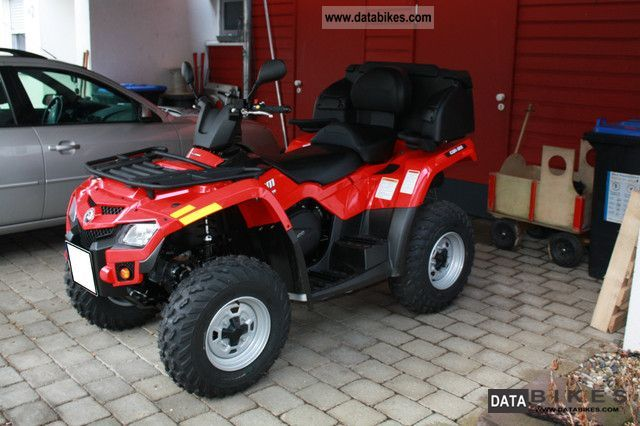 2012 Can Am  Outlander 400 Max including LOF and suitcases Motorcycle Quad photo