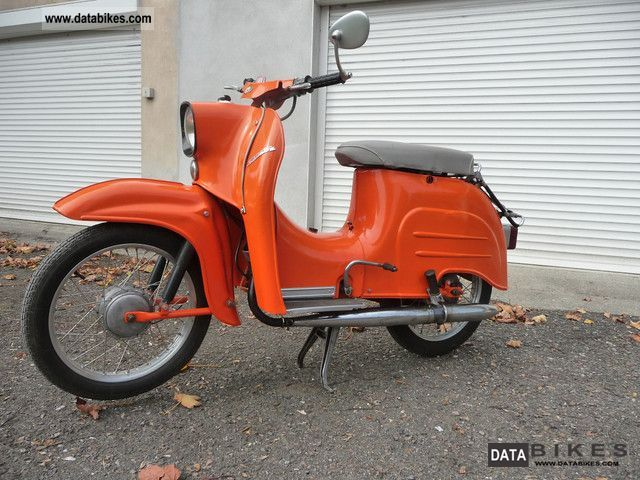 Simson  Swallow with a manual transmission! 1965 Vintage, Classic and Old Bikes photo