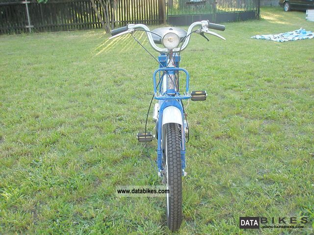 Simson  zabytkowy motorower SL-1S moped 1972 Vintage, Classic and Old Bikes photo