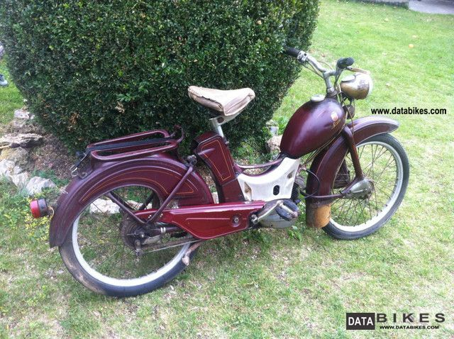 Simson  Moped 1960 Vintage, Classic and Old Bikes photo