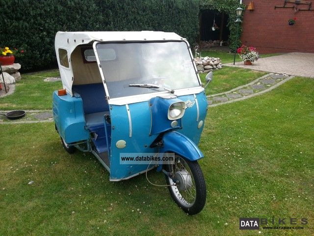 1967 Simson  Krause Piccolo Duo in original condition Bj1967DDR Motorcycle Motor-assisted Bicycle/Small Moped photo