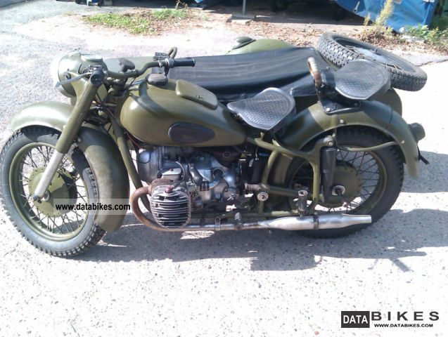 Ural  Molotov K 650 1971 Vintage, Classic and Old Bikes photo