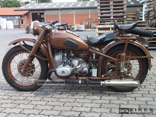 1959 Ural  M61 Motorcycle Combination/Sidecar photo