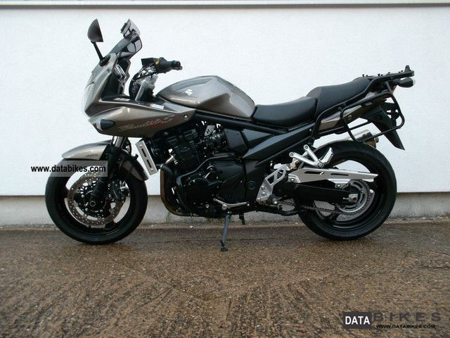 2012 suzuki gsf 1250 sa bandit abs case topcase. Black Bedroom Furniture Sets. Home Design Ideas
