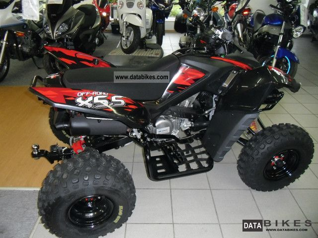 2012 Adly  Online X 5.5 Motorcycle Quad photo