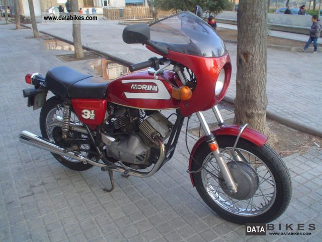 1974 Moto Morini  350 Standard Motorcycle Motorcycle photo