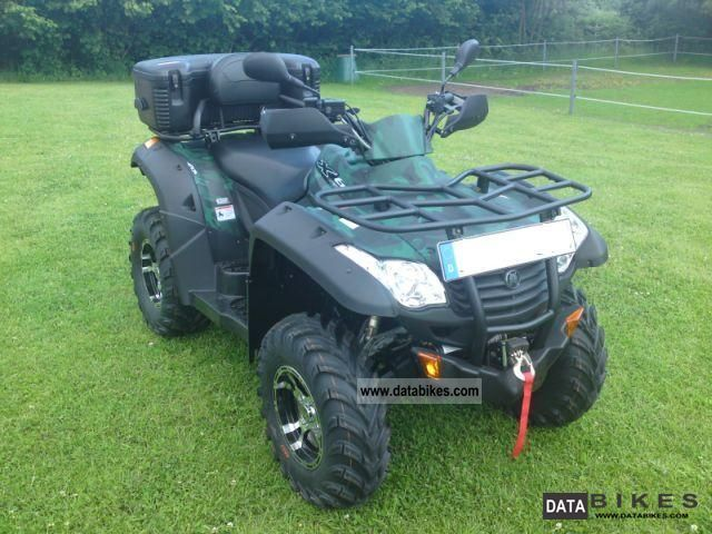 2010 CFMOTO  X6 625c Motorcycle Quad photo