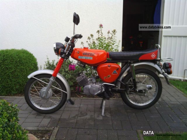 Simson  S E 50 1978 Vintage, Classic and Old Bikes photo