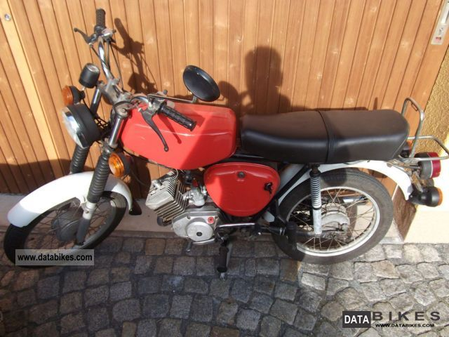 Simson  S50 1977 Vintage, Classic and Old Bikes photo