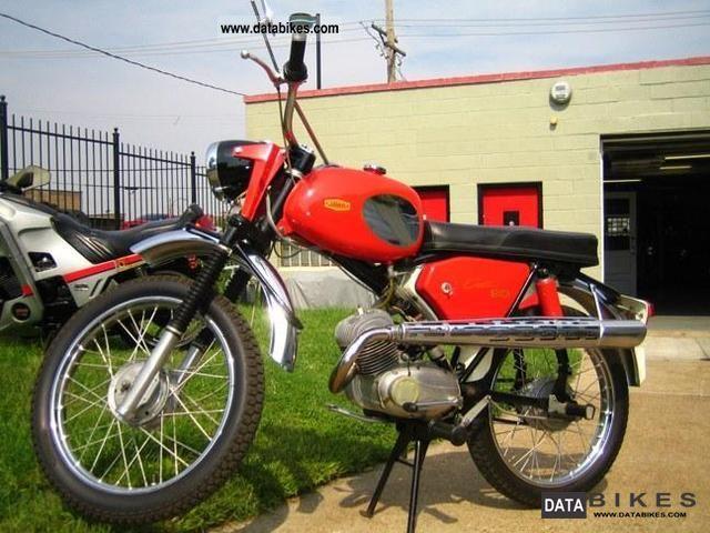 1968 Jawa  90 Cross Motorcycle Dirt Bike photo
