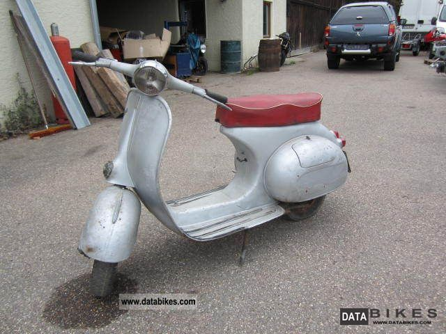 Vespa  VNB 125 VNB3T 1962 Vintage, Classic and Old Bikes photo