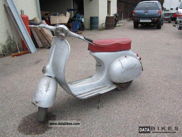 1962 Vespa  VNB 125 VNB3T Motorcycle Scooter photo