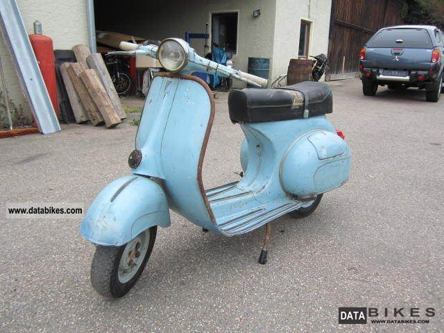 Vespa  VNB125 VNB2T 1961 Vintage, Classic and Old Bikes photo
