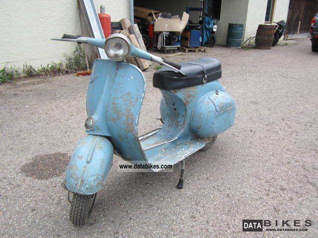 1965 Vespa  VNB 125 VNB6T Motorcycle Scooter photo