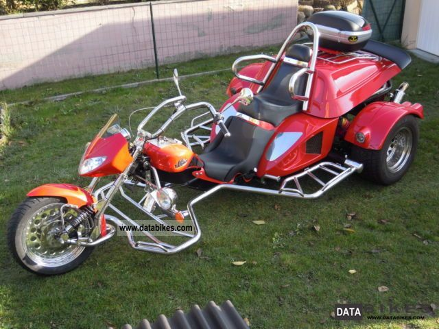 2003 Boom  BOOM Trike X11 Fighter 2 liters 140cv Motorcycle Trike photo