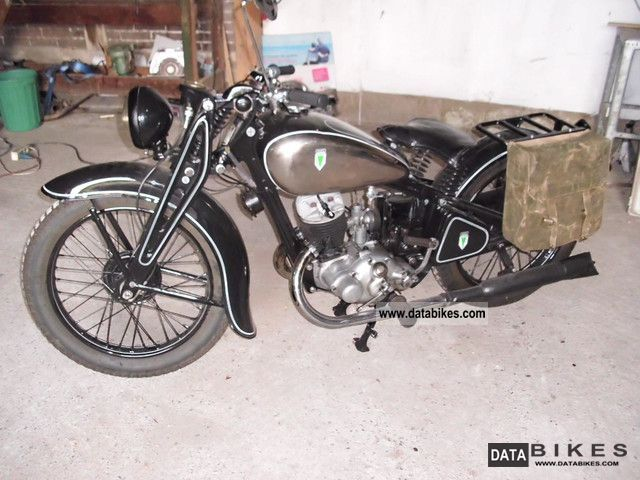 1936 DKW  SB 200 Motorcycle Tourer photo