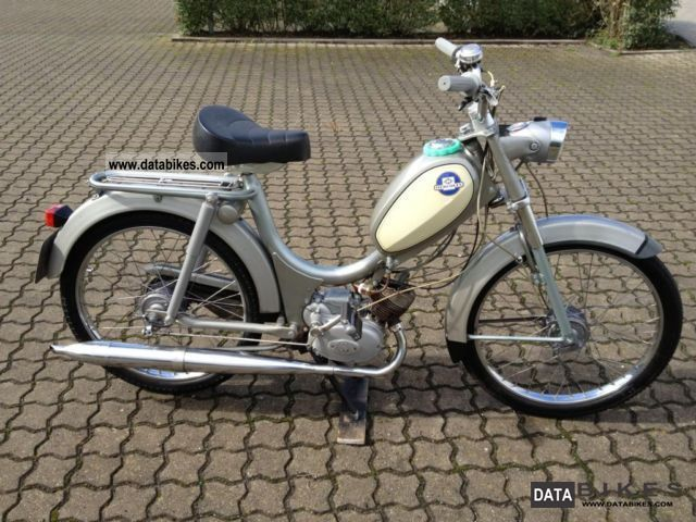 1967 Hercules  222 TH moped / vintage / maintained top Motorcycle Motor-assisted Bicycle/Small Moped photo