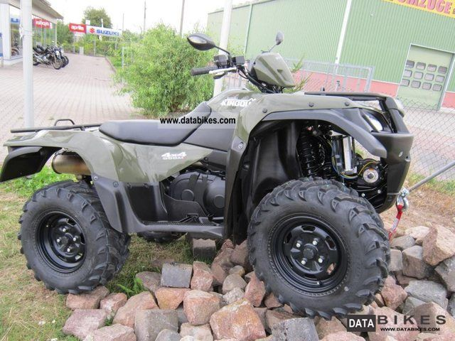 2012 Suzuki  KingQuad 500AXi, 15% discount for farmers and hunters, Motorcycle Quad photo