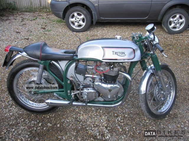 Triton  Cafe Racer 1960 Vintage, Classic and Old Bikes photo